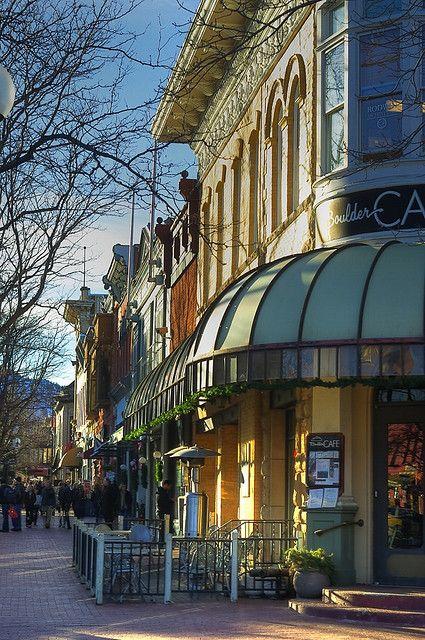 Winterlight - Pearl Street, Boulder, Colorado