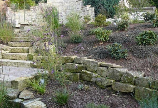 Landscaping With Limestone Blocks : Best images about landscaping on san diego