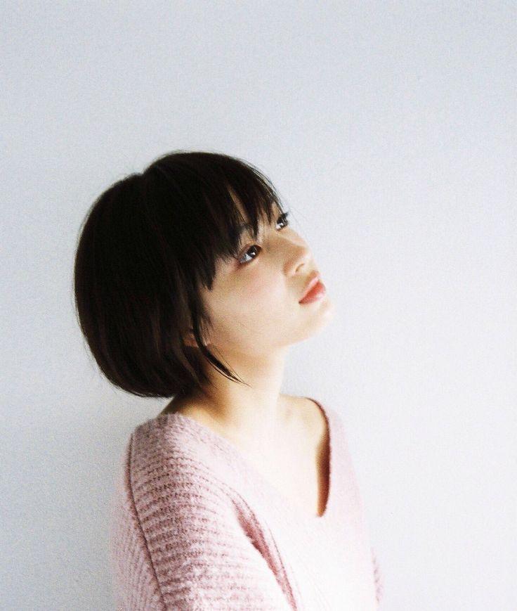 "carudamon119: ""広瀬すず @Suzu_Mg 映画「先生!」響ちゃんヘアー ショートになりました """
