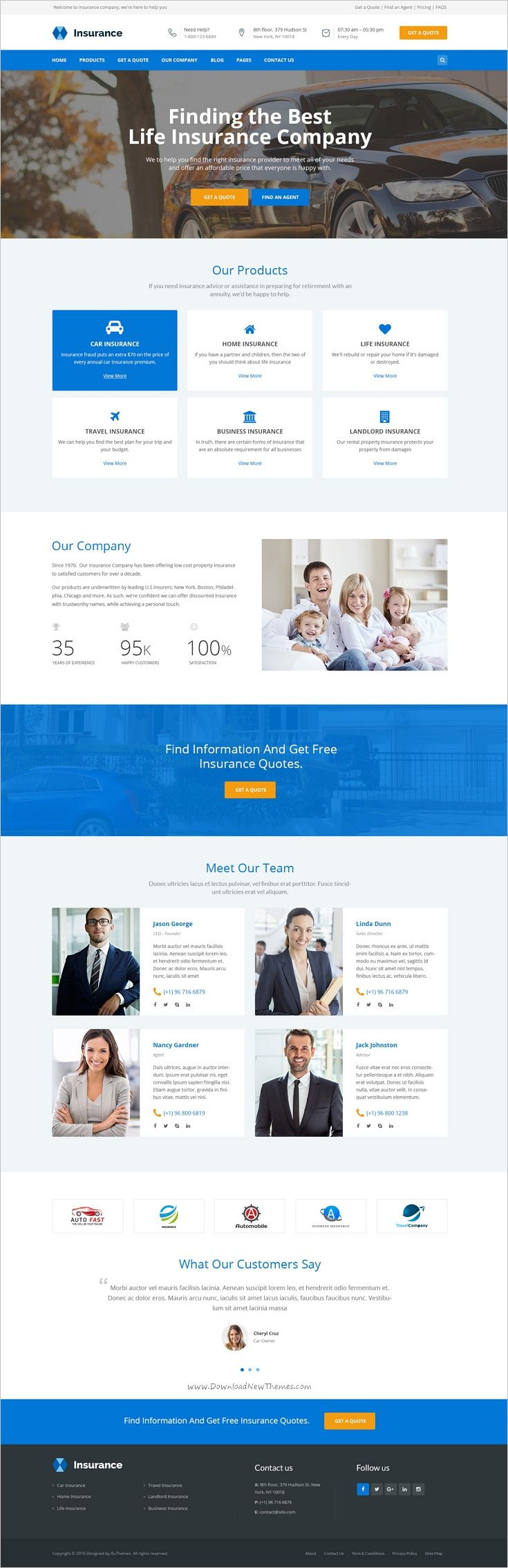 Insurance is a clean 2in1 #Photoshop theme suitable for #Insurance Agency, Insurance Agent, #Business, Corporate, Consulting services websites download now➩ https://themeforest.net/item/insurance-insurance-agency-business-psd-template/19195162?ref=Datasata