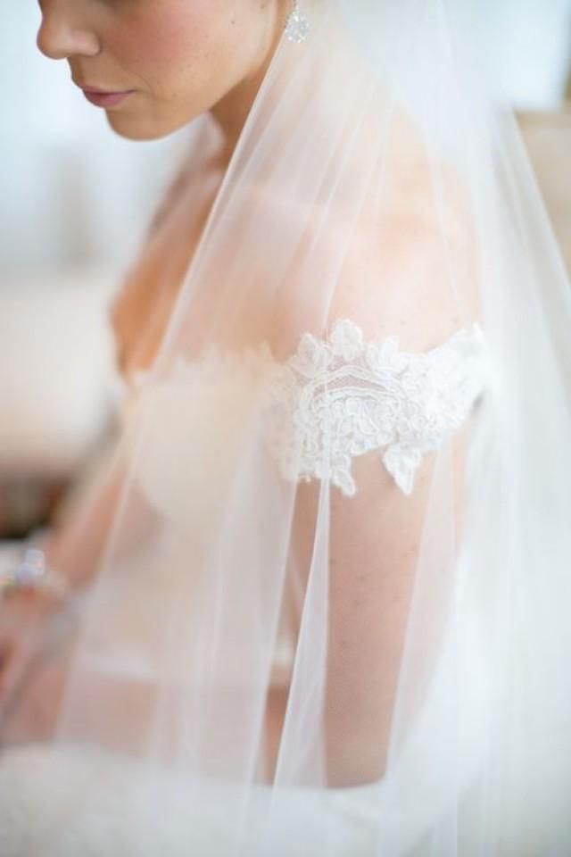 off the shoulder + Veil