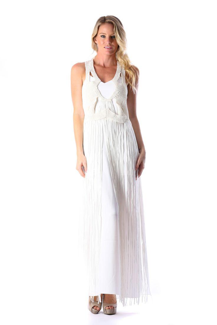 WHITE XARA FRINGE DRESS – WHITE  http://runwaydream.com.au/white-xara-fringe-dress-white-ixiah?options=cart Retail: $549.95 Hire: $129