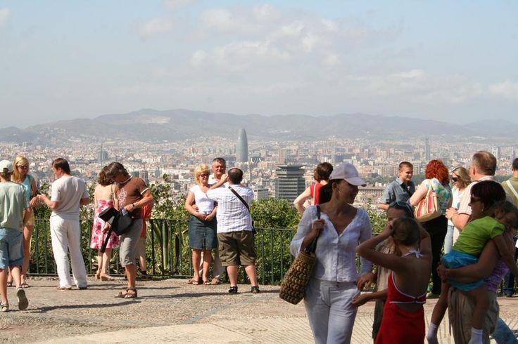 Испания, Барселона, смотровая площадка