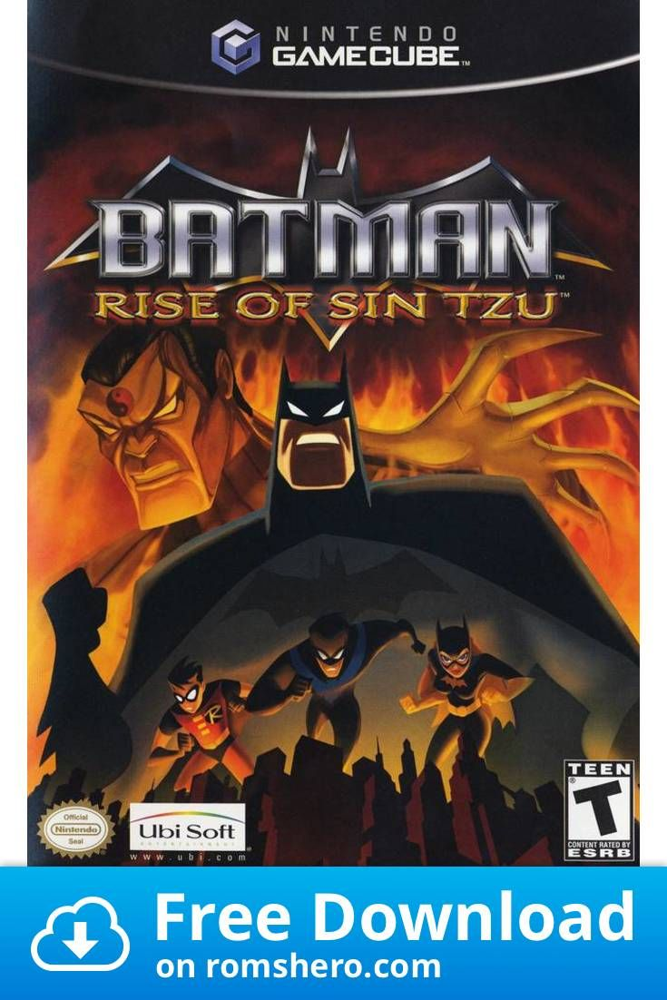 Download Batman Rise Of Sin Tzu Gamecube Rom In 2020 Batman