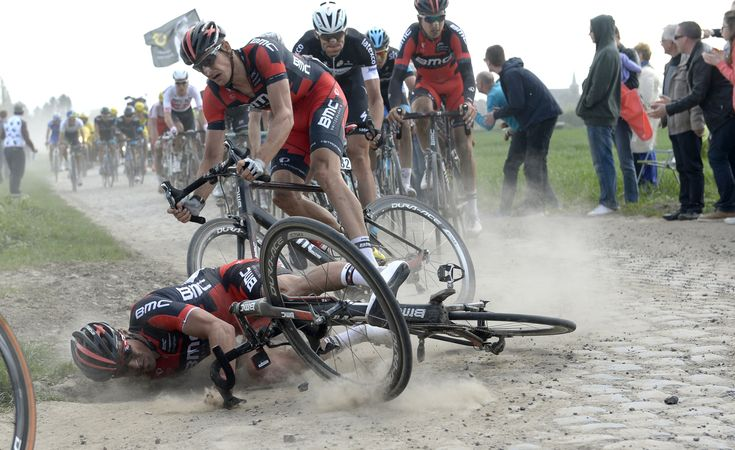 Crashing on cobblestones | 2014 Paris-Roubaix
