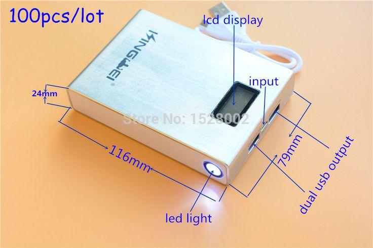 Купить товар100 pcs/lot SLW Bateria наружног 5 v 2.1A выход 4 * 18650 перезаряжаемый аккумулятор зарядное устройство чехол для сотовый телефон стол пк PSP в категории Резервное питаниена AliExpress.    Спецификация      Размер: 11.6*8*2.5 см Вес: 106.8 г  Тип: Чрезвычайная/портативные Марка: kingwei Цвет: черный, белы