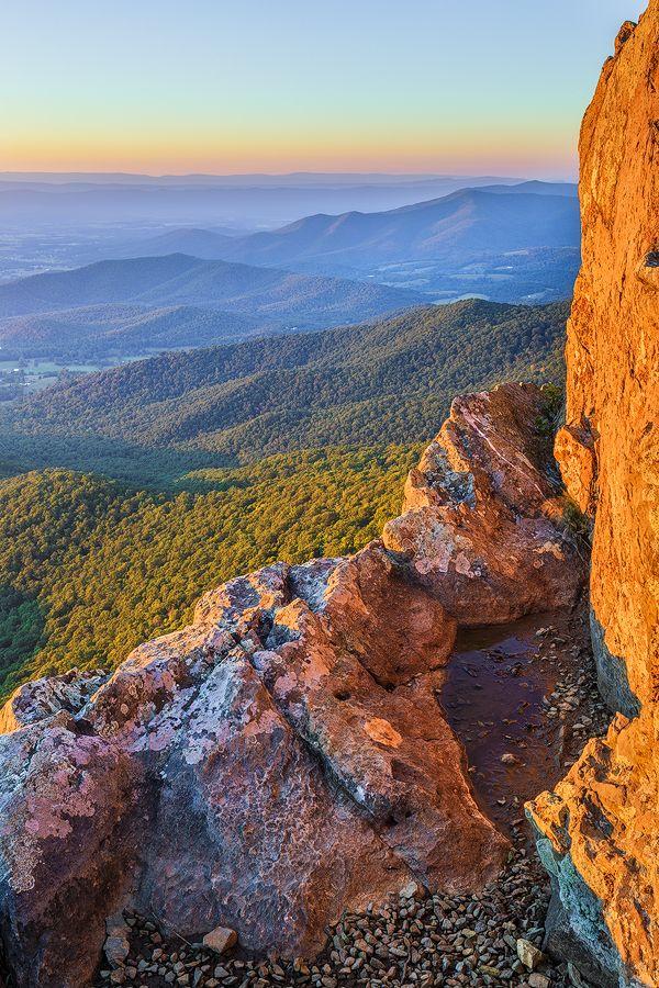 Shenandoah Dreaming, Shenandoah Valley from Little Stony Man Cliffs, VA