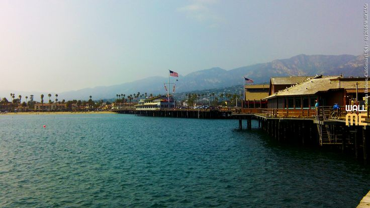 2016, week 40. Santa Barbara Pier, California (USA) Picture taken: 2018, 08