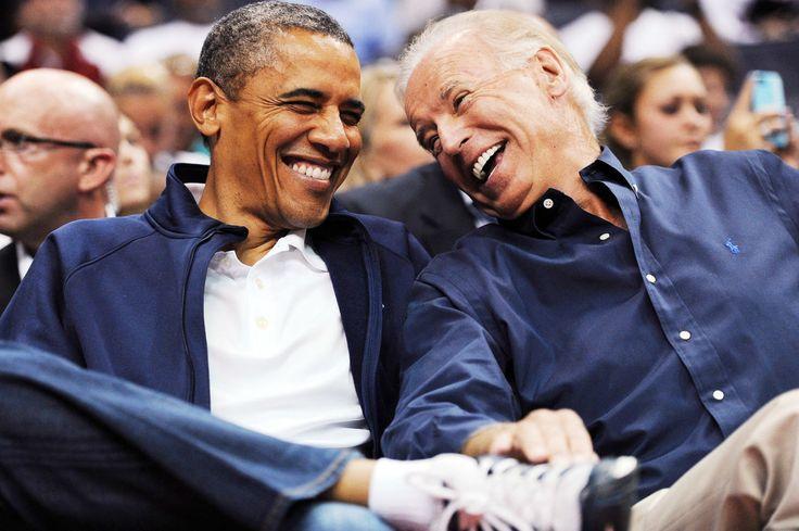 President Barack Obama and Joe Biden Are Friendship-Bracelet Official BFFs
