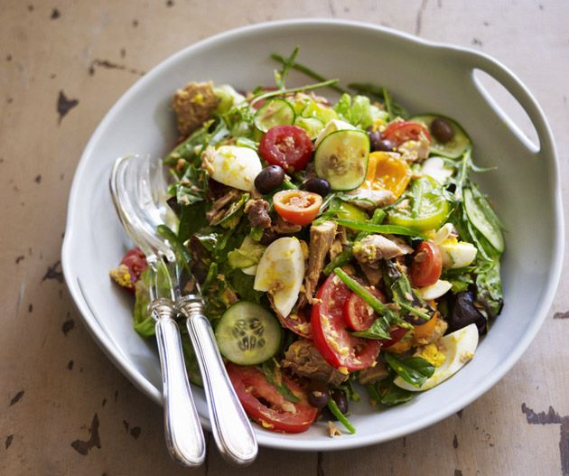 Salade nicoise from Damien Pignolet's Salades.