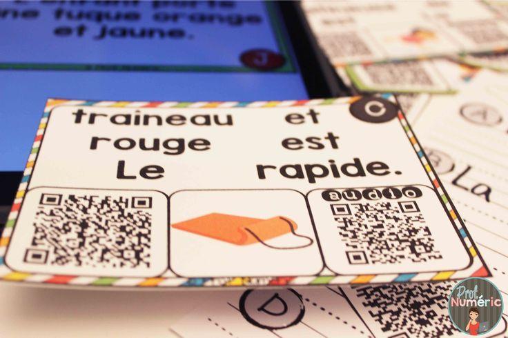 Cartes-Tâches avec CODES QR AUDIO sur le thème de l'Hiver. 3 Façons de jouer avec cet ensemble de littératie numérique.