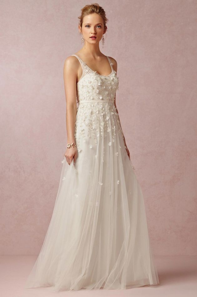 So romantic and gorgeous! Love it!  BHLDN 2014 Fall Collection | Bridal Musings Wedding Blog 5
