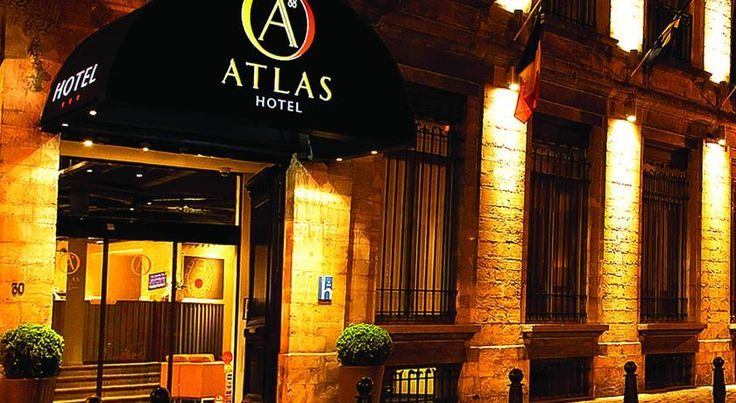 Atlas Hotel Brussels Brussels Located 650 metres from the central Grand Place, Atlas Hotel offers rooms with free WiFi and a flat-screen TV in the city centre, The hotel is set in the lively Dansaert District which accommodates a wide range of eating facilities, a 2-minute walk...
