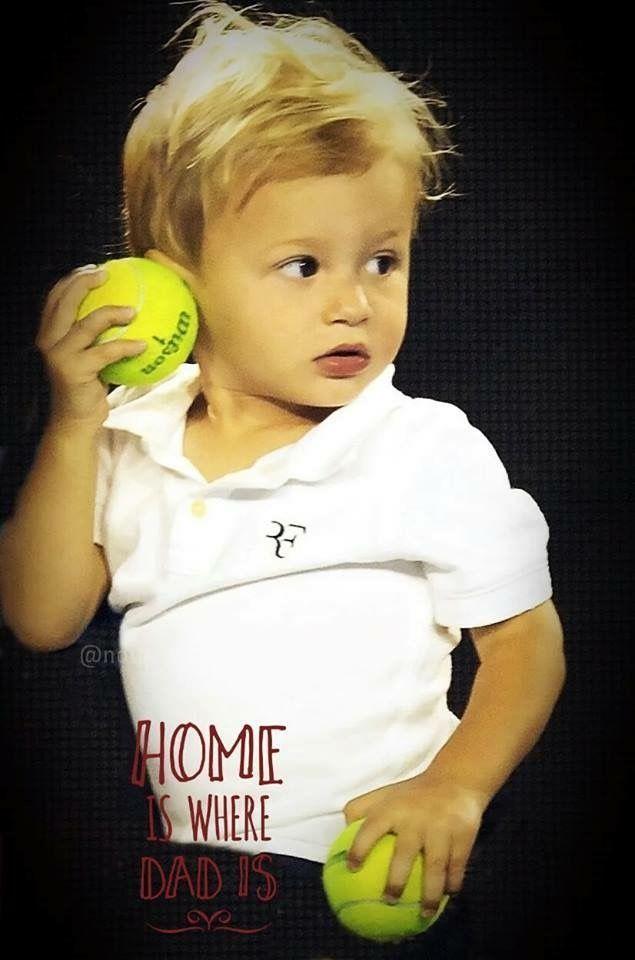 Roger Federer's son                                                       …
