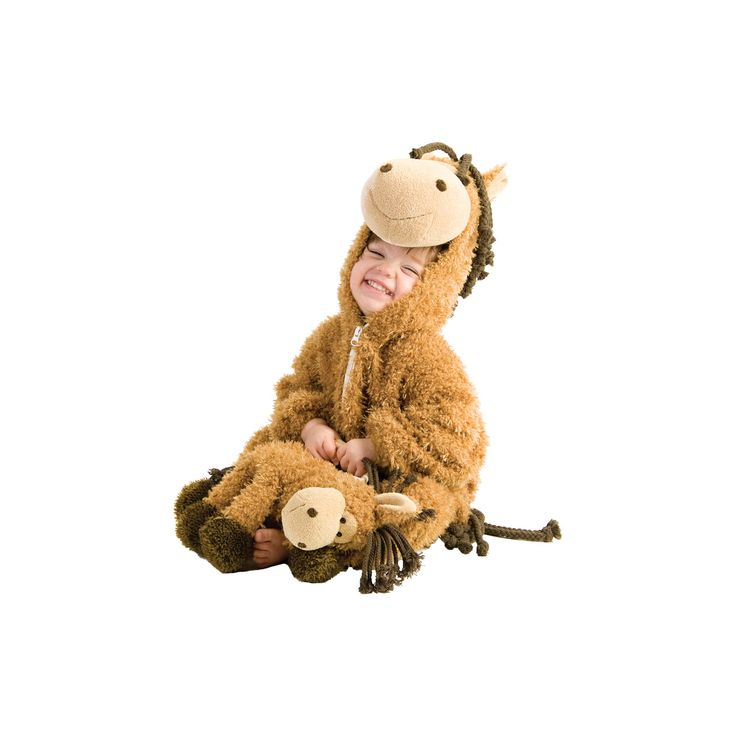 Halloween Toddler Happy Horse Costume 18m-2t, Toddler Unisex, Size: 18-24 M, Multicolored