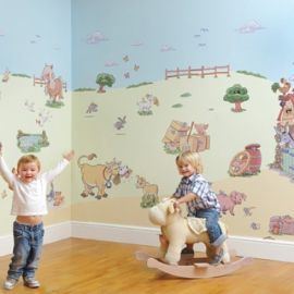 Buy FunToSee Funberry Farm Wall Stickers Room Make-Over Kit from our Wall Stickers range - Tesco.com