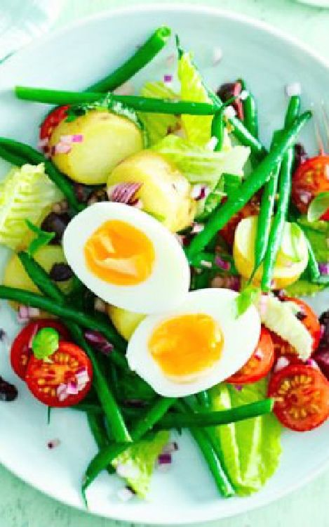 Low FODMAP and Gluten Free Recipes -  Egg Niçoise salad