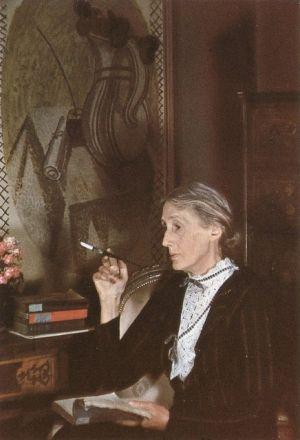 Virginia Woolf reading