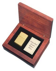 18k Solid Gold Zippo Lighter - app. $18,000.00