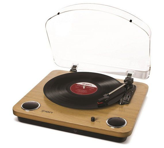 Buy ION Audio Max LP Turntable - Wood at Argos.co.uk, visit Argos.co.uk to shop online for DJ equipment, General music accessories, Musical instruments, Sports and leisure