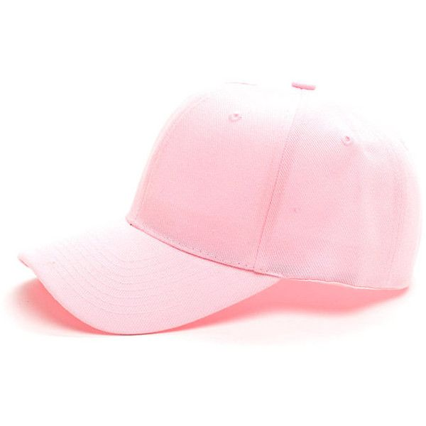 Top It Off Baseball Cap LTPINK ($6.50) ❤ liked on Polyvore featuring accessories, hats, pink, pink ball cap, pink baseball hat, pink hat, baseball caps hats and pink baseball cap