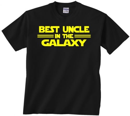 Best Uncle T shirt Star Wars. Best Uncle in the Galaxy. Perfect gift for any Star Wars fan!
