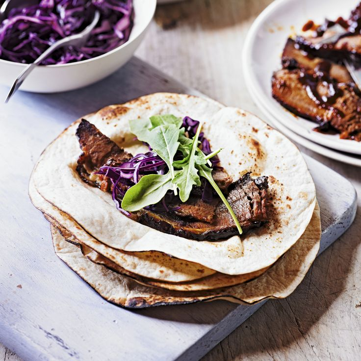 Try this Brisket wrap recipe that is slow-cooked until soft, succulent and deeply flavoursome: http://bit.ly/1sU23qc