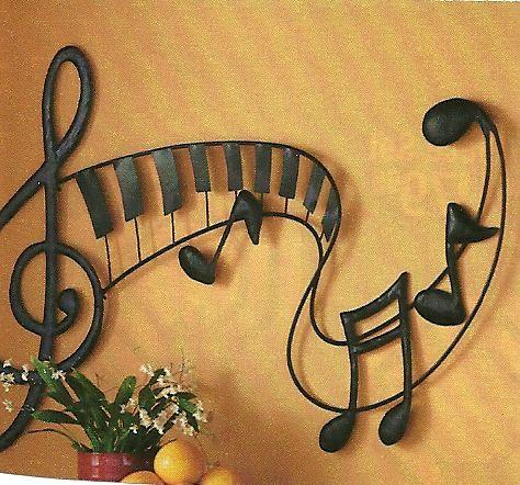 165 best Music Decor & wall art images on Pinterest | Music decor ...