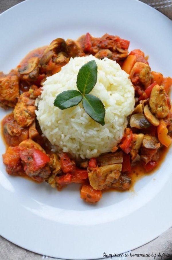 Przepis na szybki, pożywny i pyszny obiad! Przez żołądek do serca;))