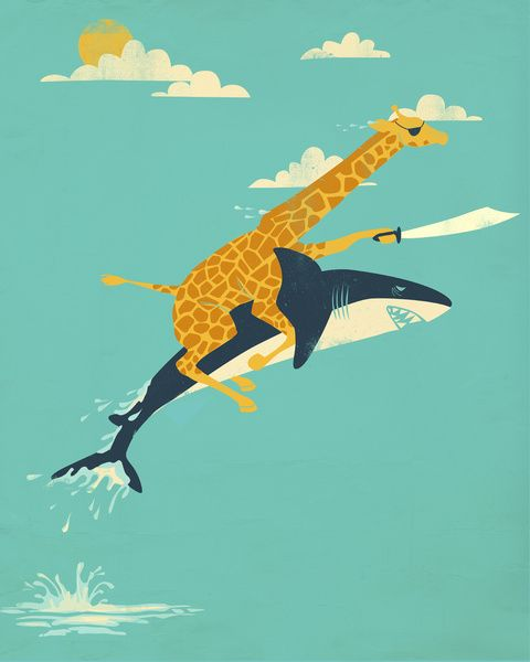 "Onward! Art Print by Jay Fleck on society6 I want to put this in the guest bathroom/pipers bathroom just to make our guest say ""whhhaa?"""