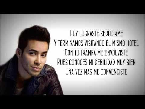 Prince Royce - Me Encanta + Letra - YouTube