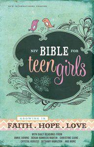 NIV Bible For Teen Girls