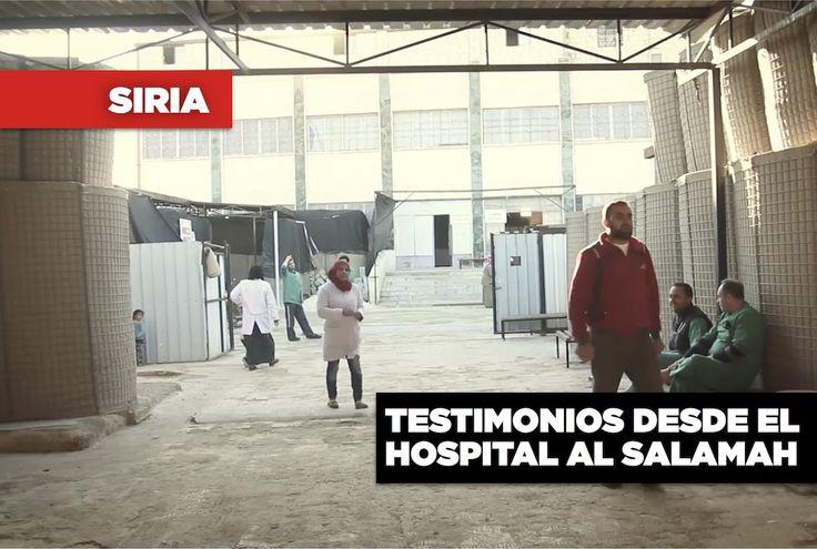El hospital de Al Salamah de #MSF está en el distrito de Azaz, en el norte de #Siria, cerca de la frontera con Turquía. Es gestionado por cerca de 150 integrantes sirios del personal de MSF, y es el mayor centro médico de MSF que queda en Siria. Este hospital opera en un contexto de cambios constantes en las líneas de frente y combates entre los numerosos grupos armados, incluido el gobierno de Siria, las fuerzas opositoras, el autodenominado Estado Islámico y las fuerzas kurdas.