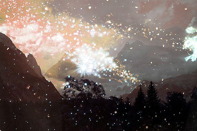Monthly Makers Maj: Magi - digitalt collage av Jessica Andersdotter