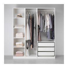 PAX Kleiderschrank, weiß weiß 175x58x201 cm
