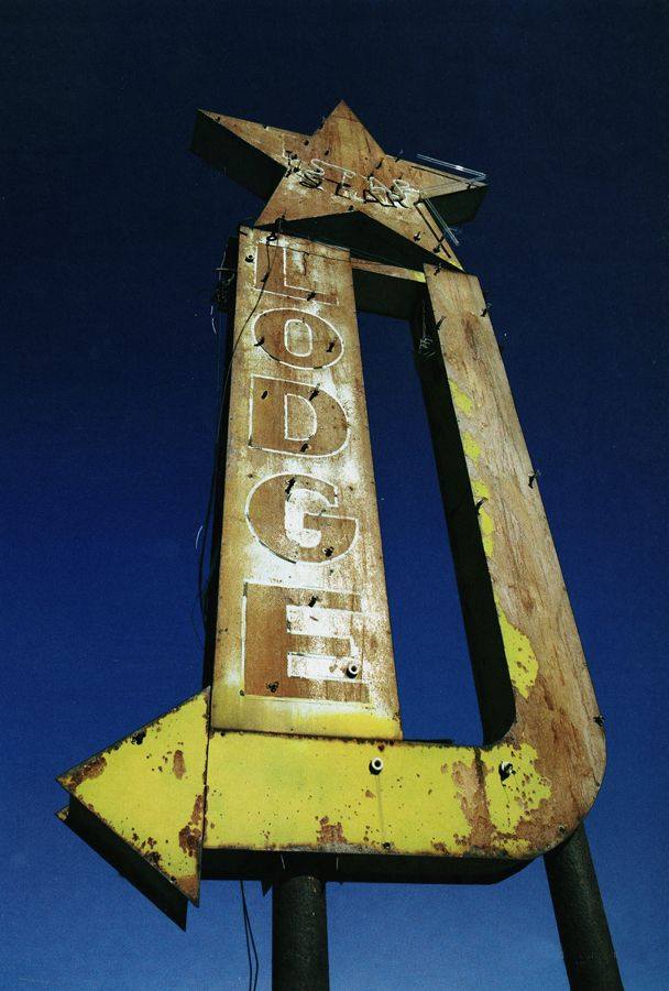 Old Lodge Sign