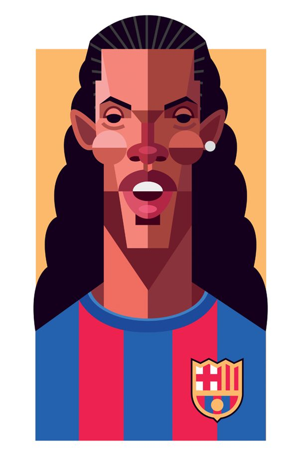 O artista norte-americano Daniel Nyari, criou uma série de imagens que vai agradar e muito os fanáticos pelo futebol. Foram…