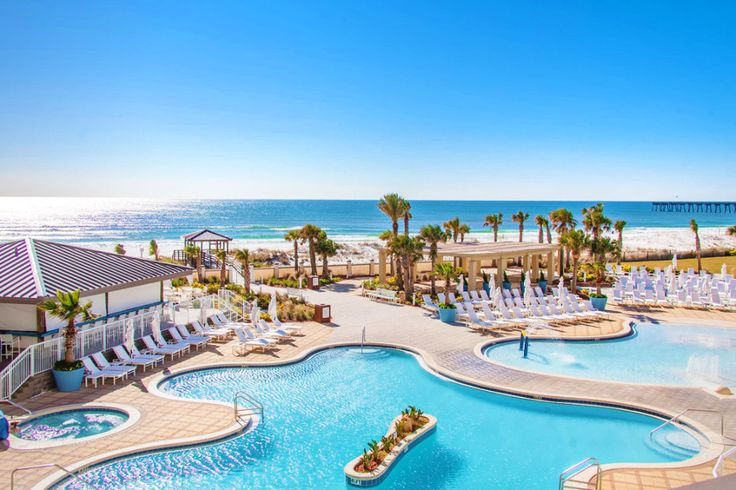Resortpass Buy A Day Pass To A Hotel Or Resort Starting At Only 25 Pensacola Beach Resort Outdoor Pool