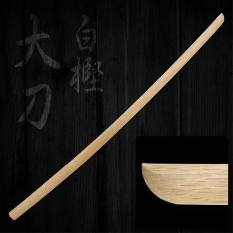 Japanese White Oak Bokuto Long : KENDO - Aoi Budogu