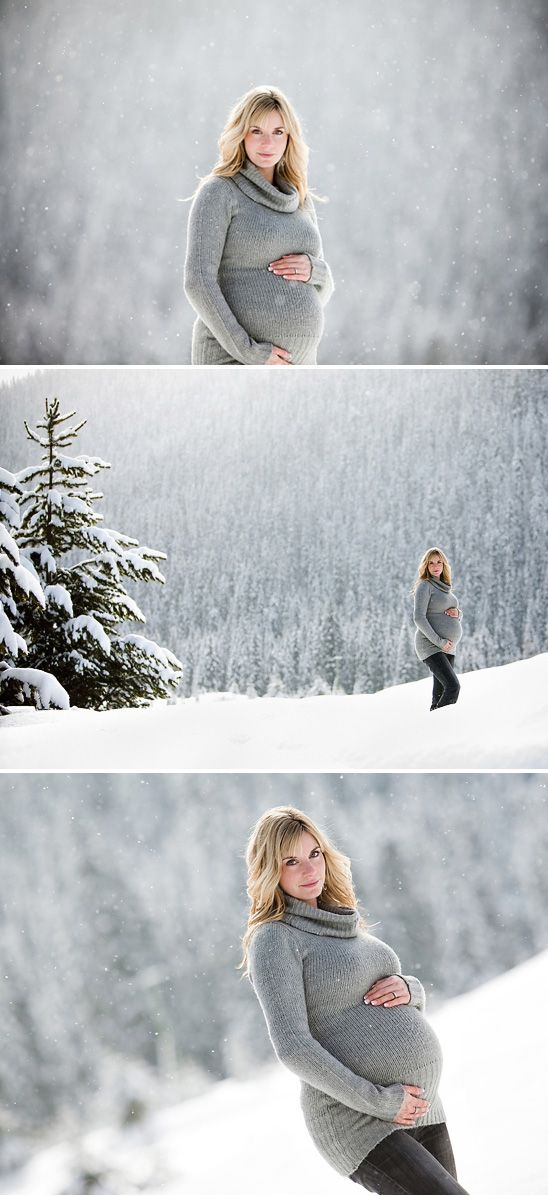 winter maternity photography ideas | Winter Maternity Photo Shoot Ideas
