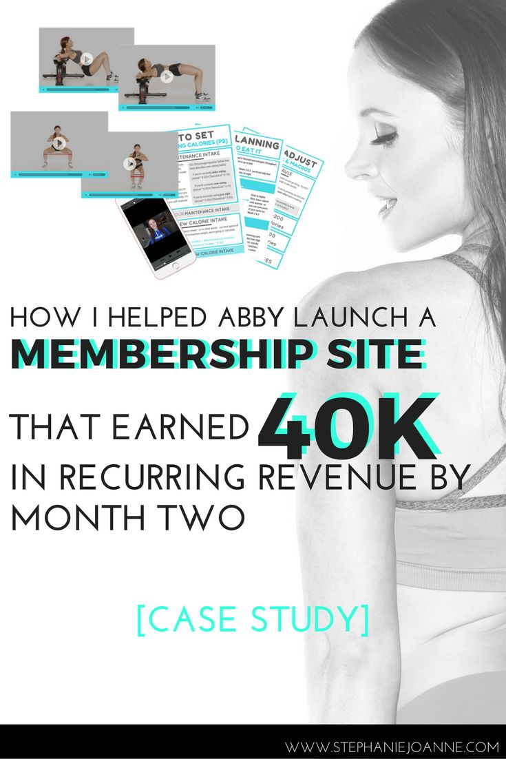 How I helped Abby launch a membership site that earned 40k in recurring revenue by month two