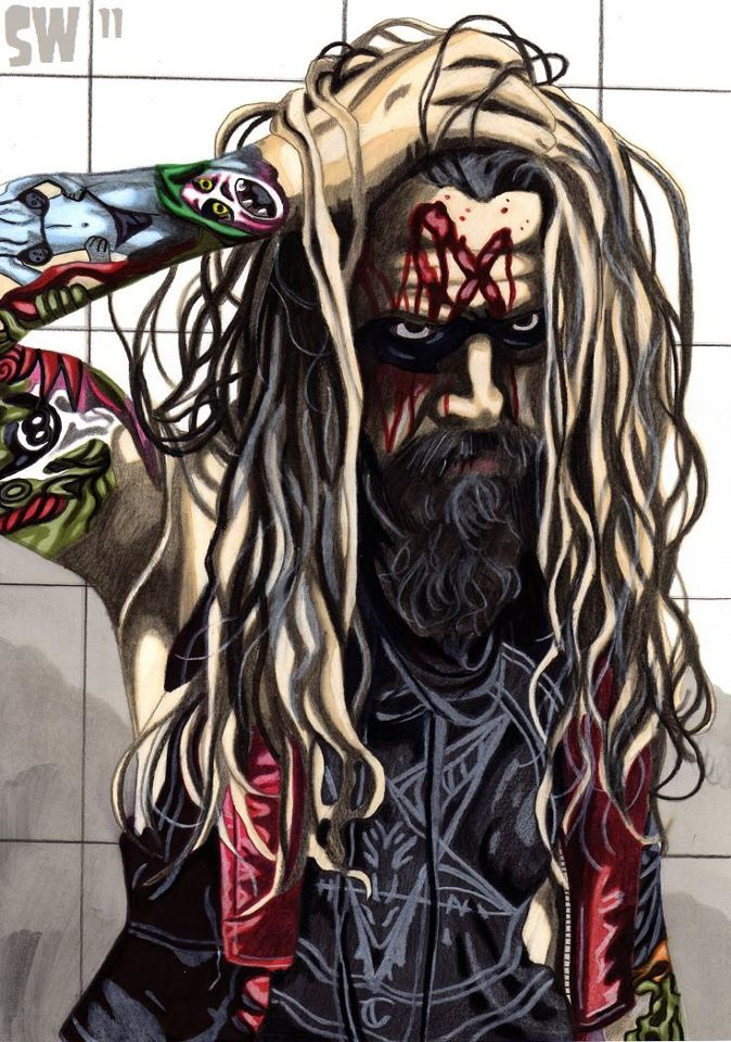 Rob Zombie! Ummm this is gonna be my new tattoo