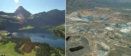 Strip Mining Before And After Pictures Google Search