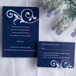 21 best images about faire part mariage bleu on pinterest. Black Bedroom Furniture Sets. Home Design Ideas