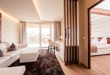 Hotel Prokulus****S, Naturns, Südtirol - interior design by home INTERIOR  #hotelausstattung #hoteldesign #interiordesign #inneneinrichtung #luxus #hotel #textilien #wohnaccessoires #südtirol #italien #4sterne #superior