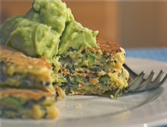 Zucchini Fritters #vegan #dairyfree #glutenfree @rickiheller