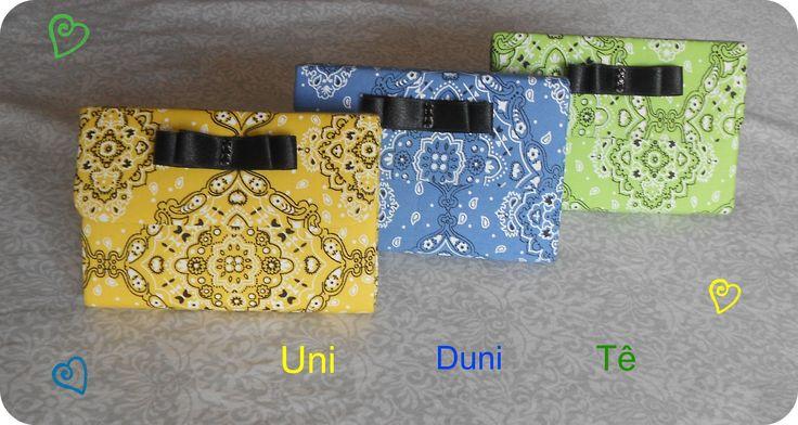 Capas para calculadora hp12c bandana, uma mais linda que a outra