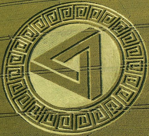 File:Chilbolton crop circle.svg - Wikimedia Commons |Chilbolton Crop Circle Explanation