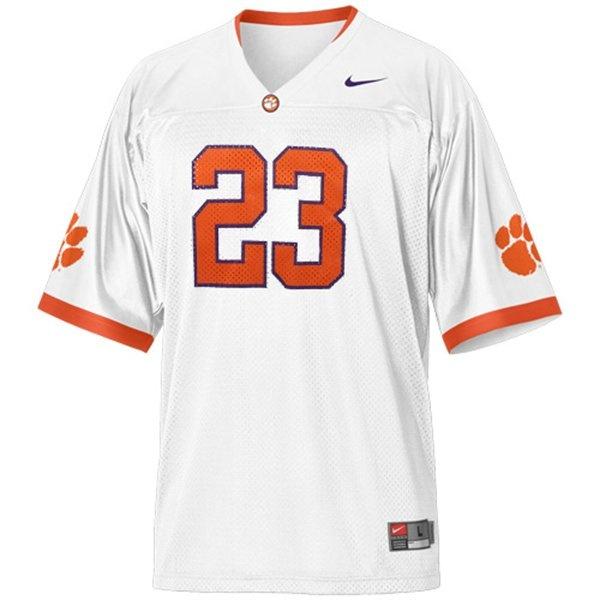 Nike Clemson Tigers Youth Football Jersey ELLINGTON ##23