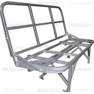 C27 J14576 Rock And Roll Rear Seat And Bed Frame All